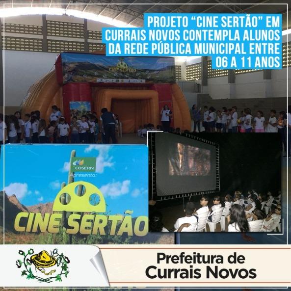 Cine Sertão em Currais Novos