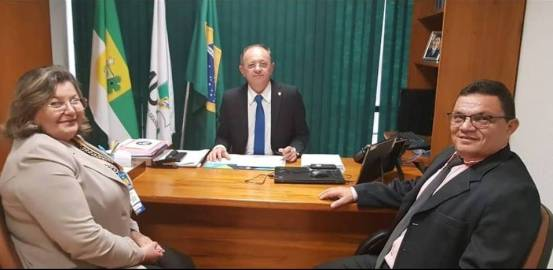 prefeita de Cerro Corá marcha dos prefeitos