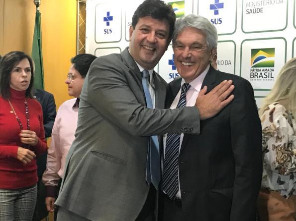 Ministro Mandetta e João Maia